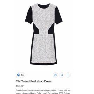 Tweed Tibi dress